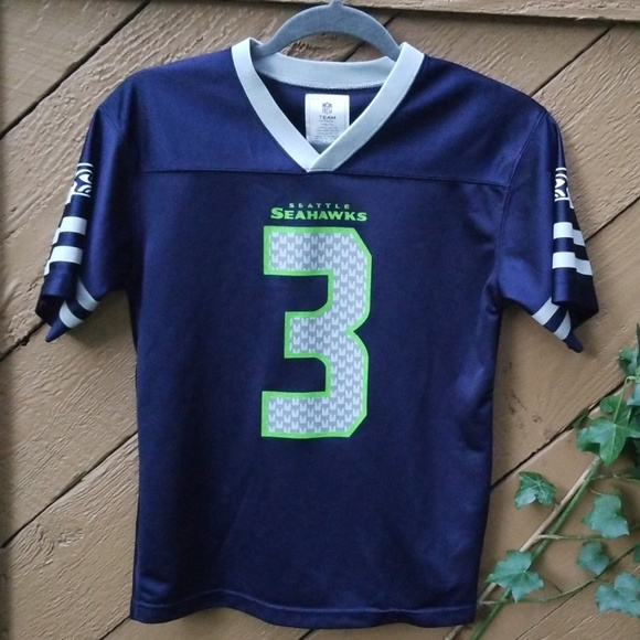 best loved e61b6 7eae4 Seattle Seahawk NFL Team Wilson Jersey YL Womens S